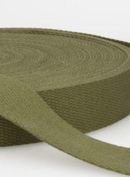 webbing strap army green - 30 mm
