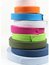 tassenband 25 mm - verschillende kleuren