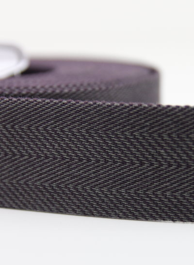 burgundy chique webbing strap 40 mm