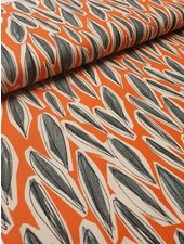 artistic leaves - deco fabric