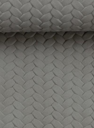 anthracite - braided - vegan  leather