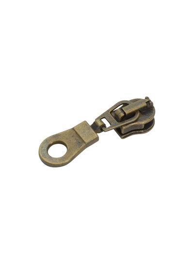 slider for coil zipper - donut anti-brass