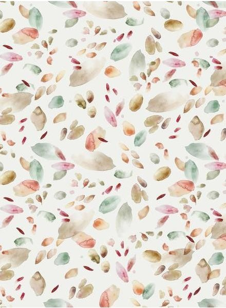 Family Fabrics abstract leaves - tricot