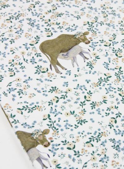 bloemen koe - tricot