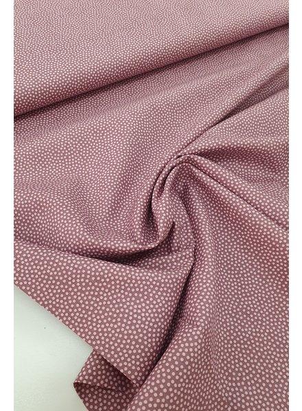 dots lila- cotton
