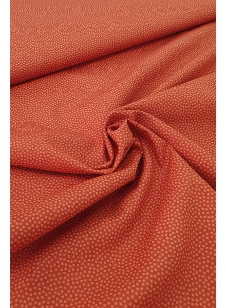 dots rust - cotton