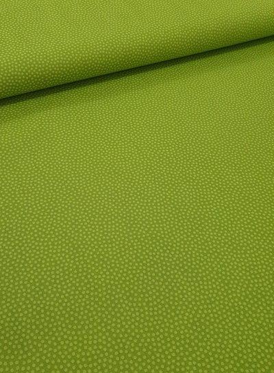 dots lime - cotton