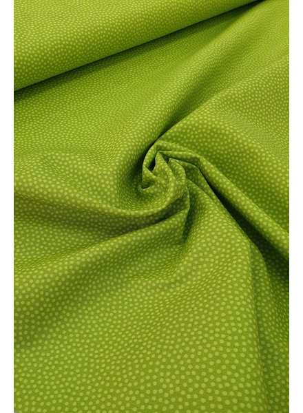 dots lime - cotton