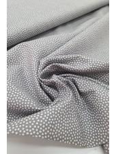dots grey white - cotton