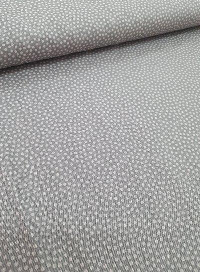 bolletje grijs taupe - katoen