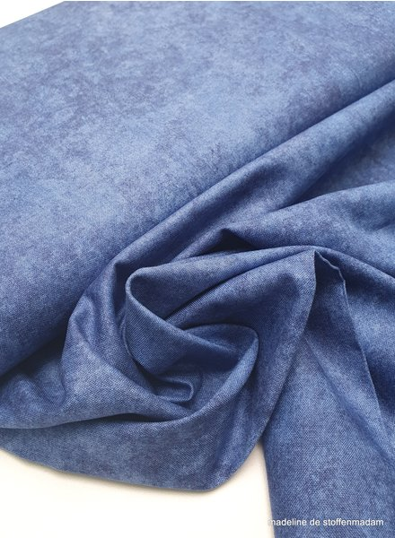 MayWood Studio shadow play cobalt - cotton
