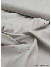 grey confetti - cotton