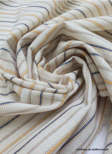marton ecru -   textured cotton polyester
