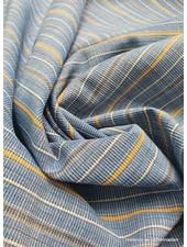 marton blauw -  textuur katoen polyester