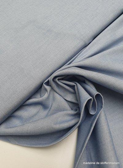 denim blue - stretch cotton