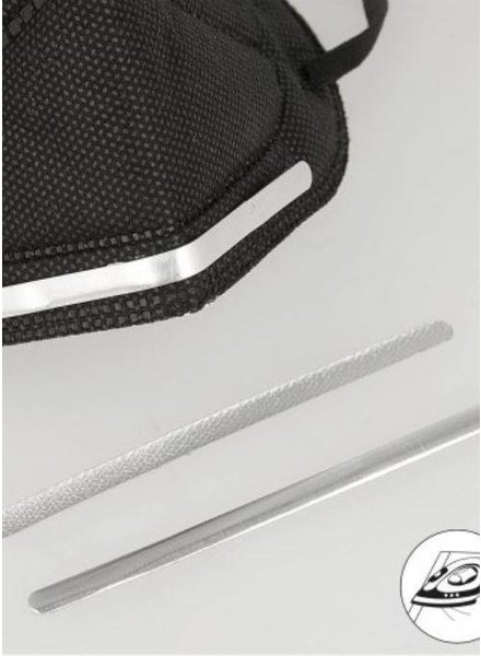 instrijkbare neusbrug - aluminium