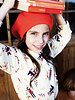 roodkapje vanille - tricot