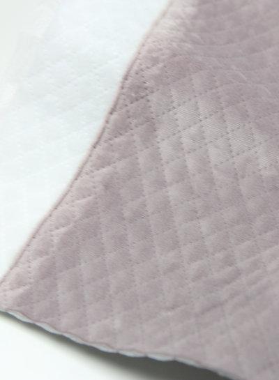 oudroze diamonds - gewatteerde velvet