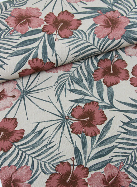 flowers - deco linnen look