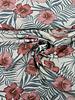 bloemen - canvas linnen look