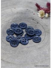 Atelier Brunette Midnight Bliss button - 9 mm - Atelier Brunette