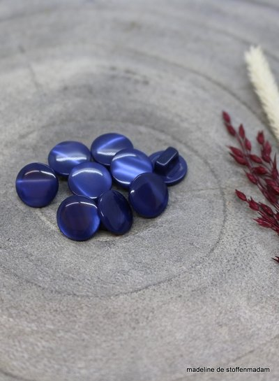 Cobalt Swing button - 10 mm - Atelier Brunette