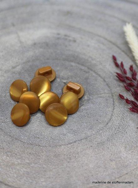 Atelier Brunette Ochre Swing button - 10 mm - Atelier Brunette