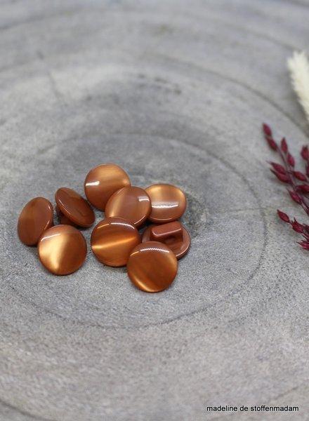 Atelier Brunette Chestnut Swing button - 10 mm - Atelier Brunette