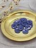 Atelier Brunette Cobalt glossy button - 10 mm - Atelier Brunette