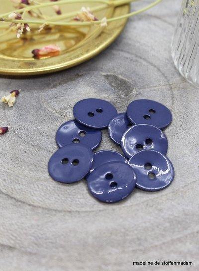 Atelier Brunette Cobalt glossy knoop - 10 mm - Atelier Brunette