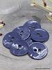 Cobalt glossy knoop - 10 mm - Atelier Brunette