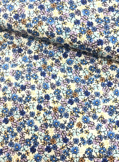 wild flowers - liberty look - cotton lawn
