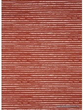 striped jersey - rust