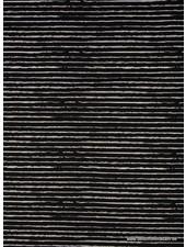 streepjes tricot - zwart