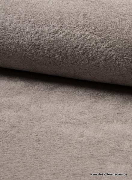 taupe melee - bamboo towel fabric