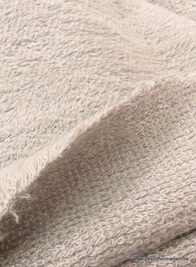 zilver grijs melee - bamboe badstof