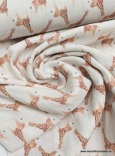 giraffe muslin