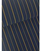 Golden stripes - crepe elasthan