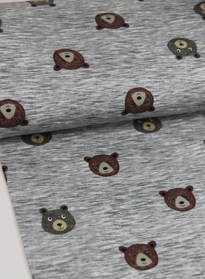 beren - grijs melee - french terry