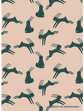 ART GALLERY FABRICS rabbits - cotton