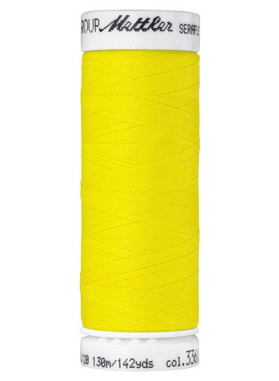 Mettler Seraflex - elastisch garen - geel 3361