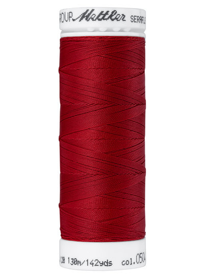 Mettler Seraflex - elastic thread - red 0504