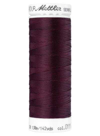 Mettler Seraflex - elastisch garen - aubergine 0111