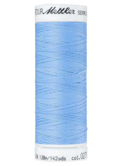 Mettler Seraflex - elastisch garen - blauw 0271