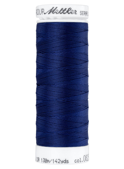 Mettler Seraflex - elastisch garen - marineblauw 0825
