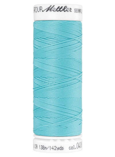 Mettler Seraflex - elastic thread - turquoise 0408