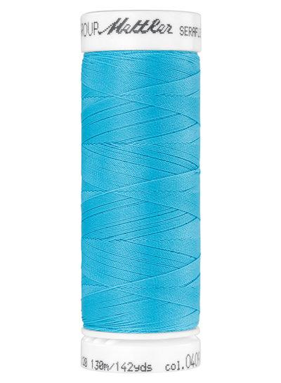 Mettler Seraflex - elastic thread - aqua blue 0409