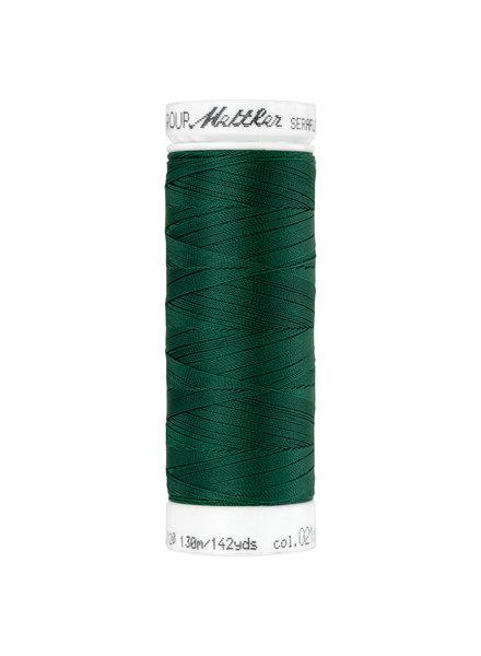 Mettler Seraflex - elastic thread - dark green 0216