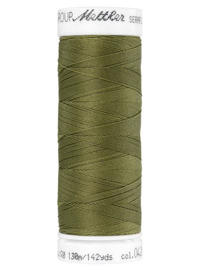 Mettler Seraflex - elastic thread - khaki green 0420