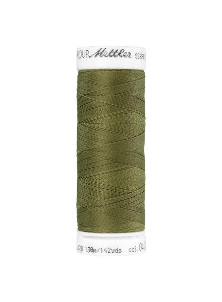 Mettler Seraflex - elastisch garen - khaki 0420